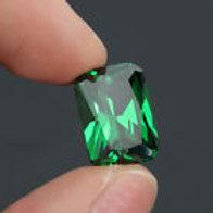 9.08ct Green Sapphire 10X14 mm