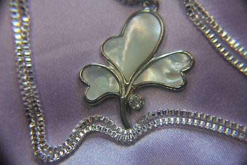 Pearl Clover Pendant