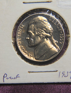 1959 Proof Nickle