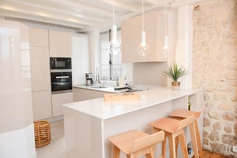 cuisine ouverte moderne decorateur paris