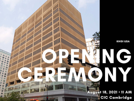 8/18 KHIDI USA Opening Ceremony