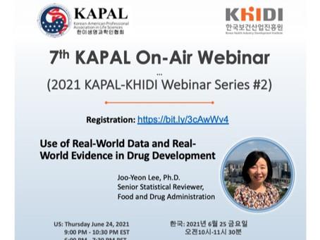 2021 KHIDI-KAPAL Bio & Health Webinar Series #2