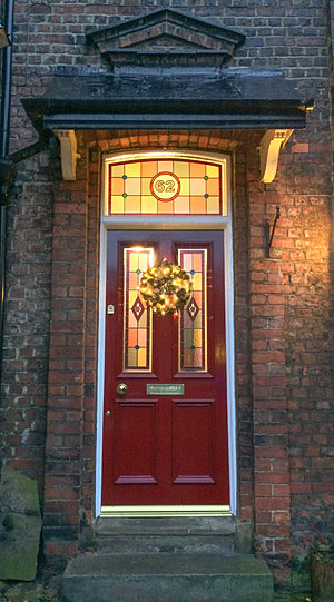 Grand Victorian Traditional Period Wooden Front Doors