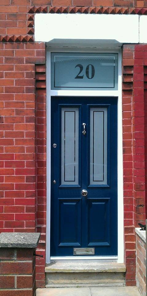 The grand victorian wooden front door for Grand entrance doors