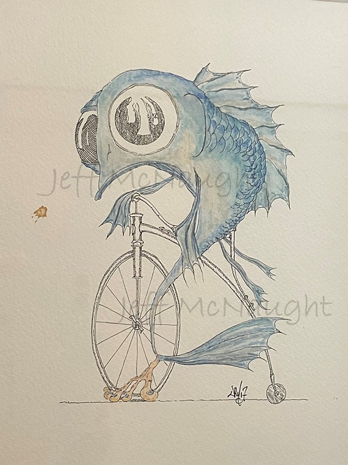 Blue Bicycle Cory