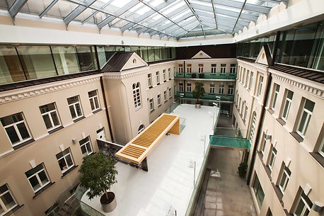Classic business centre in Vilnius