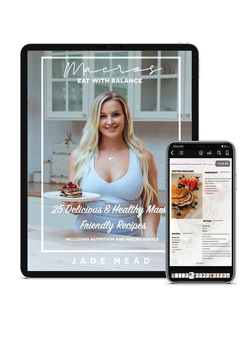 MACROS - EAT WITH BALANCE - Recipe & Nutrition eBook