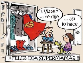 Felicidades a las Super Mamás Trabajadoras en su Día
