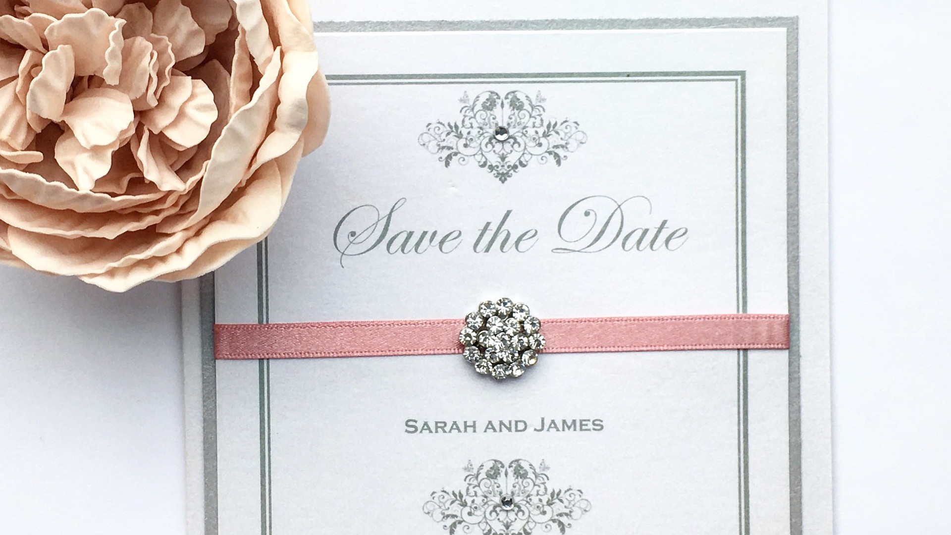 Elegance Folded Save the Date
