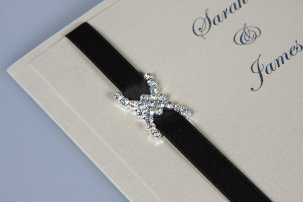 Diamonds Wedding Invitation Embellishmen