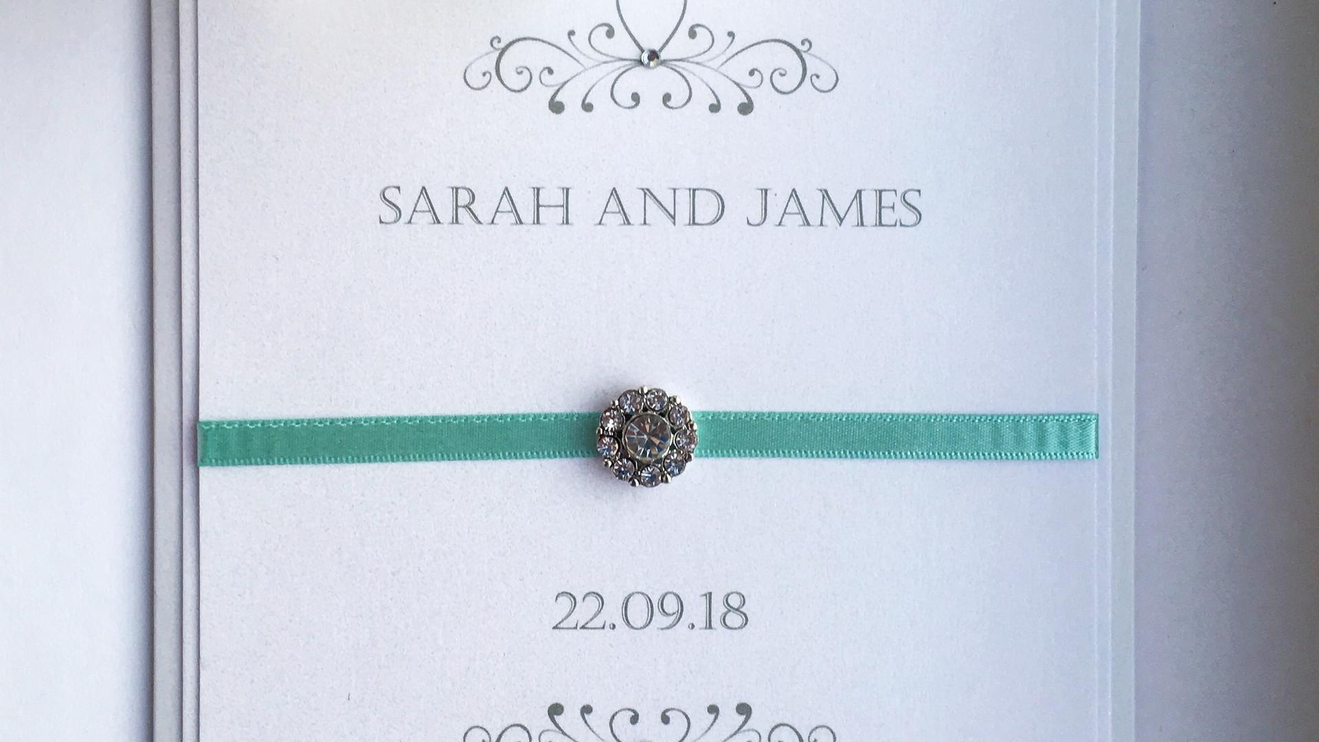 Romanace Wedding Invitation