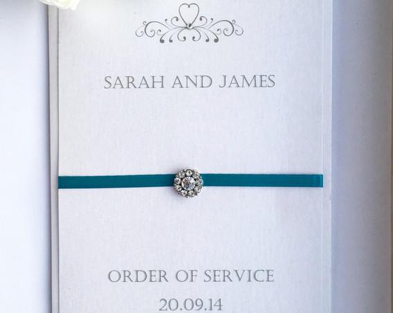 Romance Order of Service