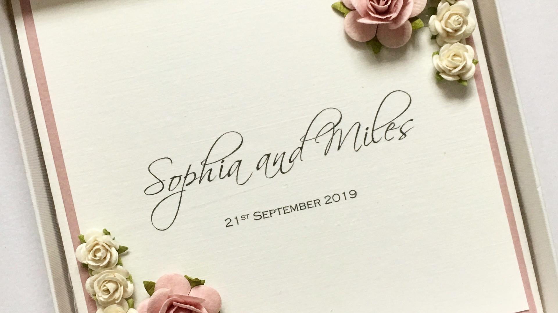 Cherish Vinatge Wedding Invitation