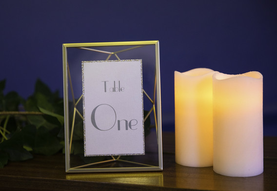 wedding table number in gold.jpg