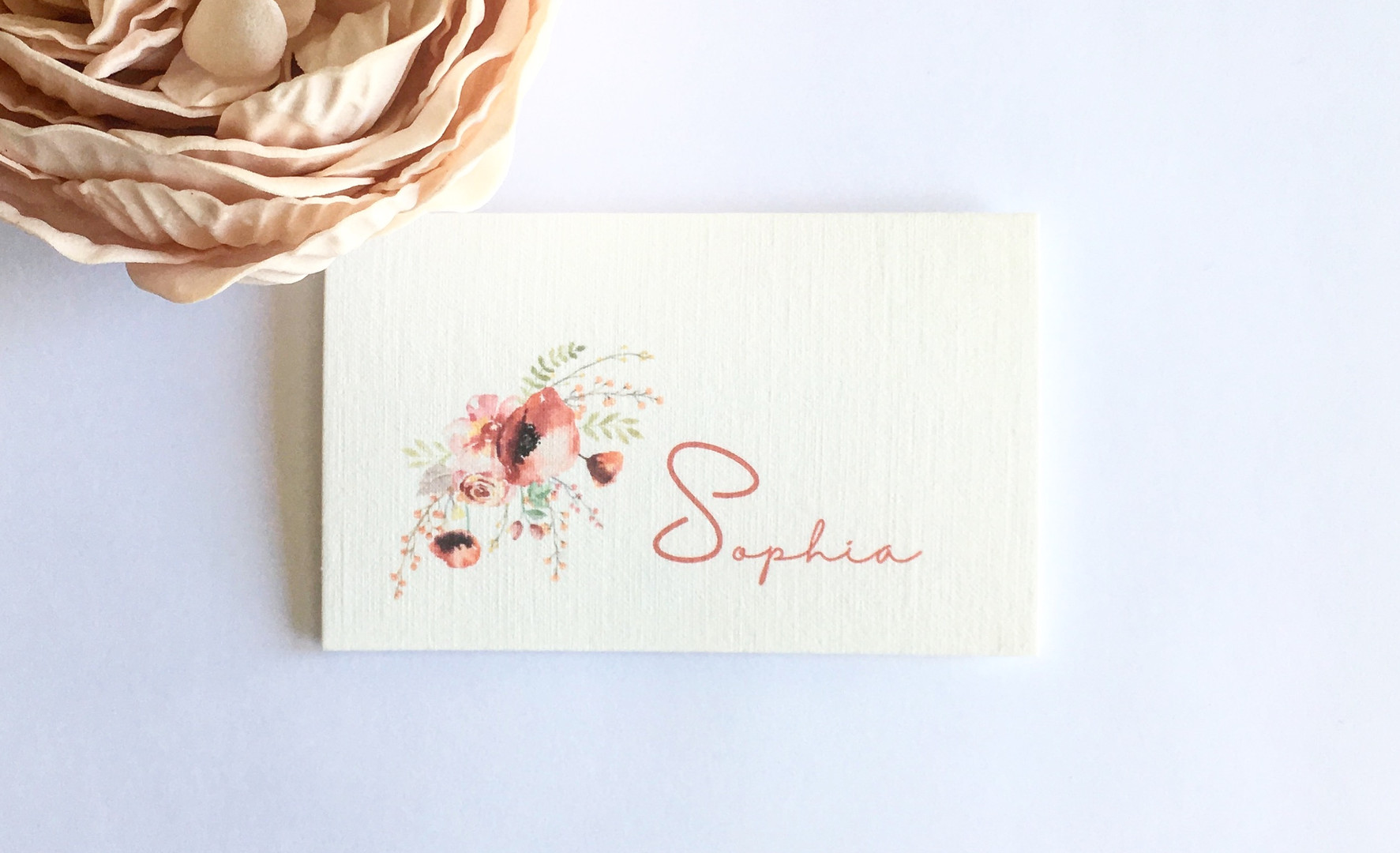 Emily WEdding Place Card