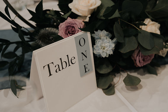 Eternity Wedding Table Number.jpg