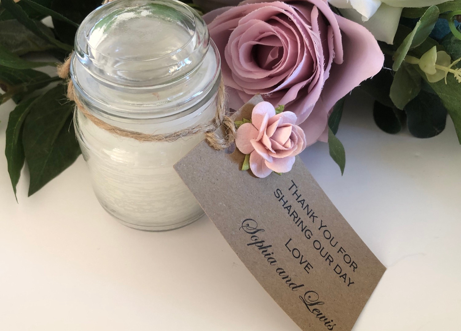 Candle with rustic tag.jpg