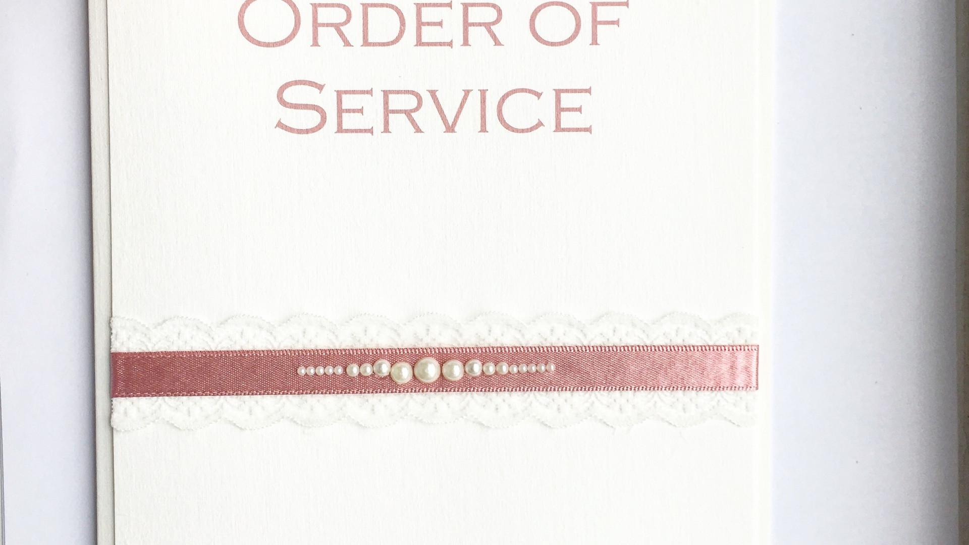 Innocence Order of Service
