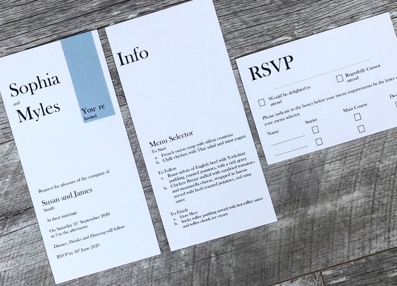 Eternity modern wedding invitations.JPG