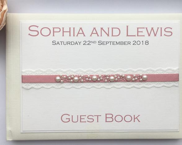 Innocence Wedding Guest Book