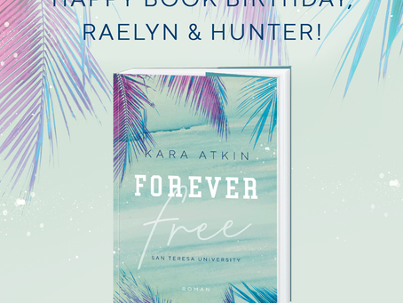 Happy Bookbirthday Raelyn & Hunter