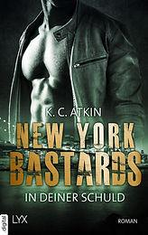 New York Bastards - In deiner Schuld_Cover