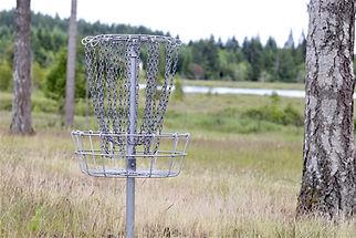 disc golf at smith lake farm