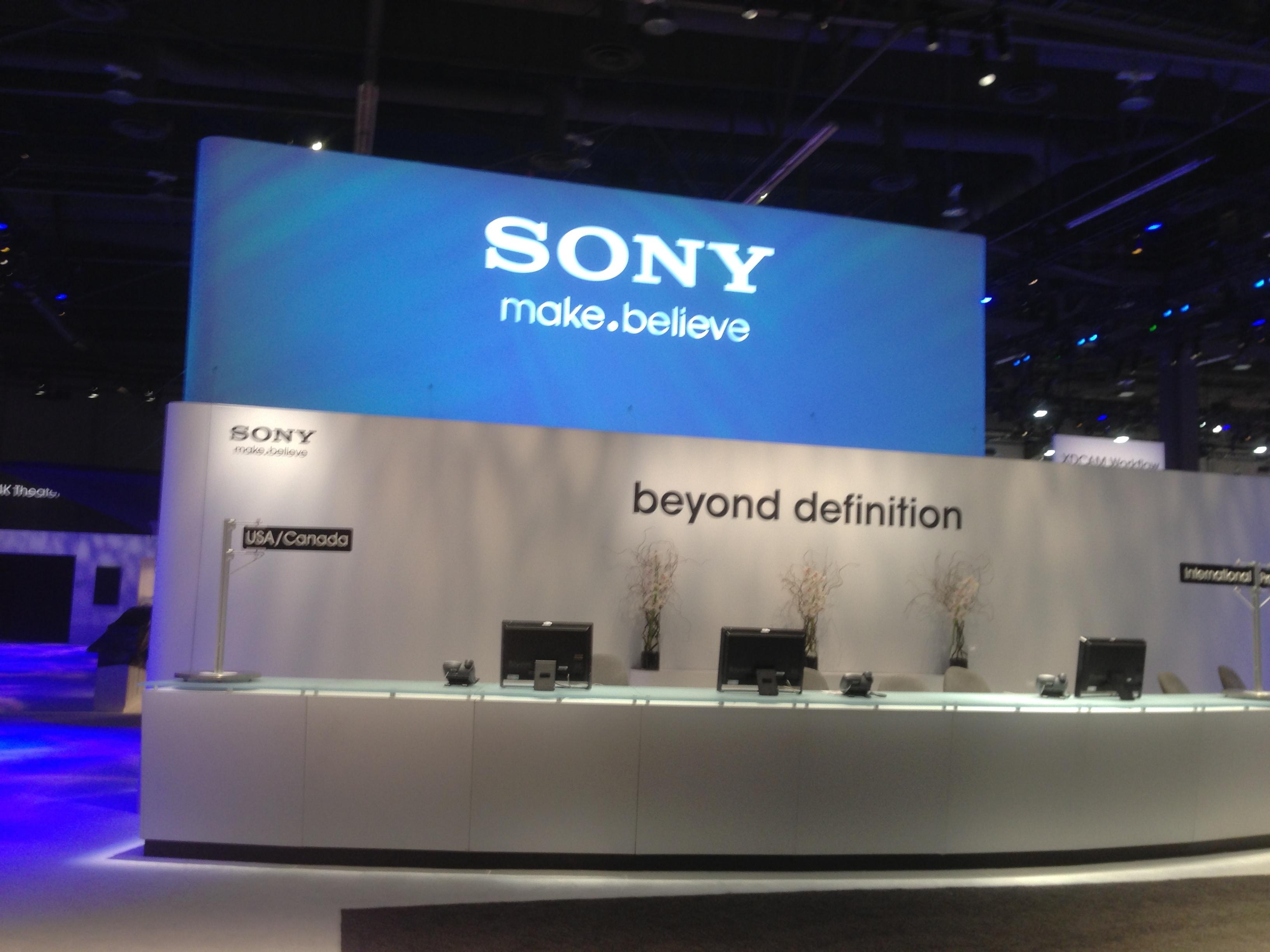 Sony NAB