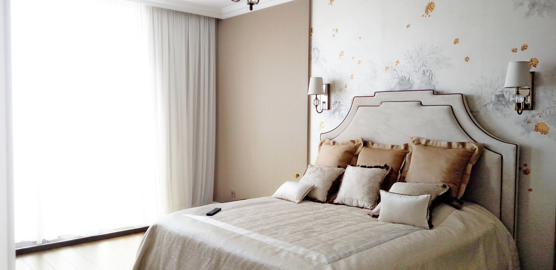 Отделка по спальни по дизайн проекту