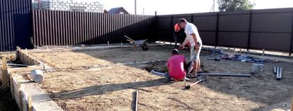 Устройство канализации и водопровода