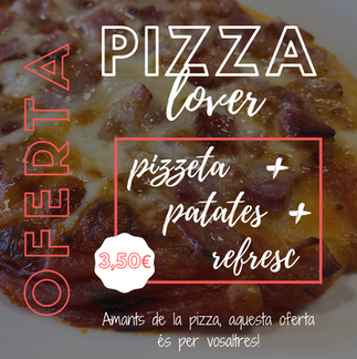 Oferta: Pizza lover.