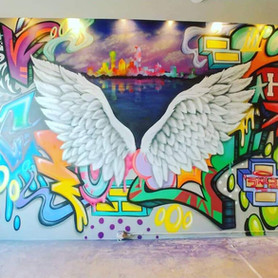 Custom Wing Mural 2020