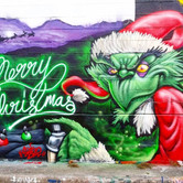 Grinch Mural Merry Christmas 2018
