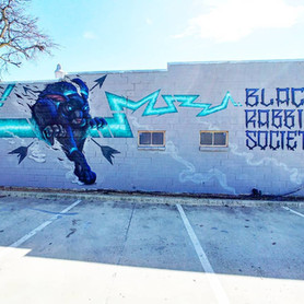 Black Rabbit Mural 2021