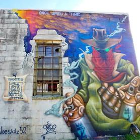Wild West Mural 2019