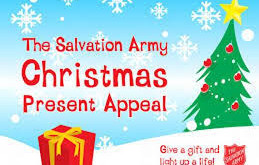 Salvation Army Christmas Present Appeal.