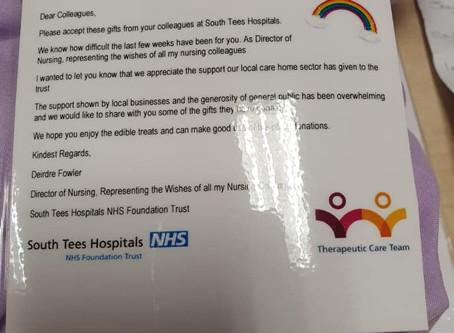 South Tees Hospital Donation