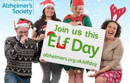 Elf Day 6th December 2019 in aid of Alzheimer's Day