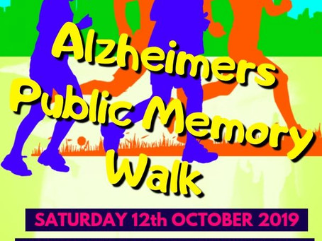 Memory Walk 12th October 19