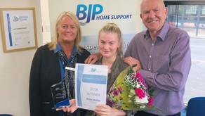 Employee of the Year Winner - Dione Walker