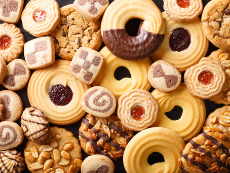 Why do basketball players like cookies?