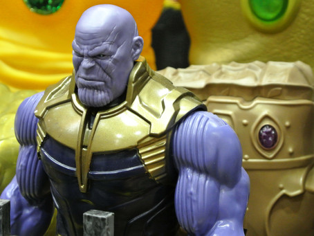 What's Thanos' favorite app to talk to friends?