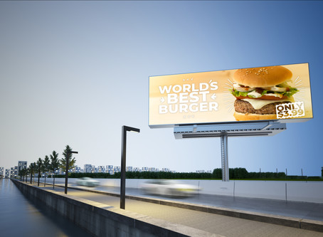 How do billboards talk?
