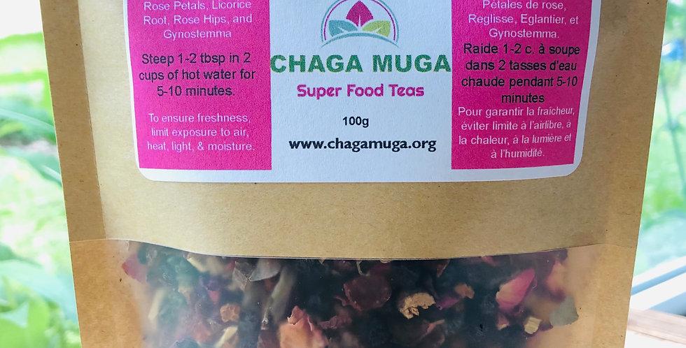 Chaga Rose Berry Tea