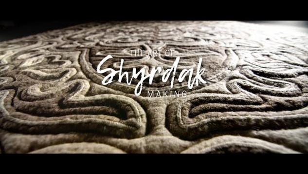 The ART of Shyrdak Making