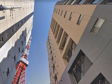 オフは、東京タワー・芝公園散歩