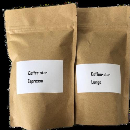 PROEFPAKKET Coffee-star bonen 2x150 gr.