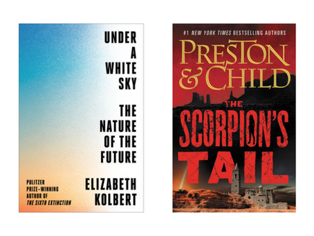 New Non-Fiction + Fiction For Your Enjoyment!