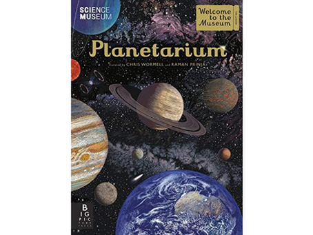 Planetarium by Raman Prinja, Chris Wormell (Illustrator)