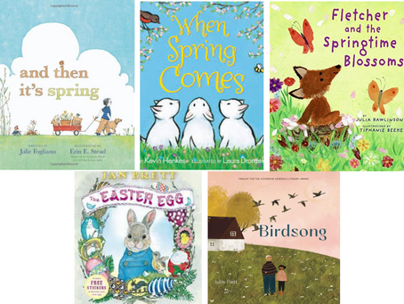 Springtime Storybooks for Children!
